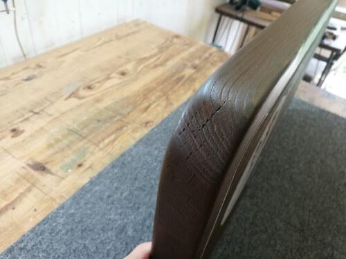 メンテ後の木製看板