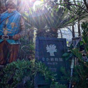 なか植物園スタンド木製看板②