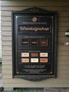 木製看板 ウッドサインショップ